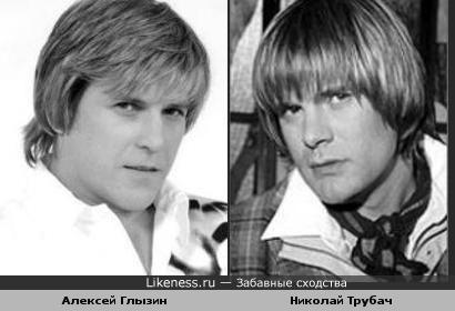 Музыканты Алексей Глызин и Николай Трубач