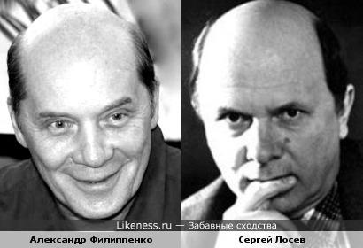 Актеры Александр Филиппенко и Сергей Лосев