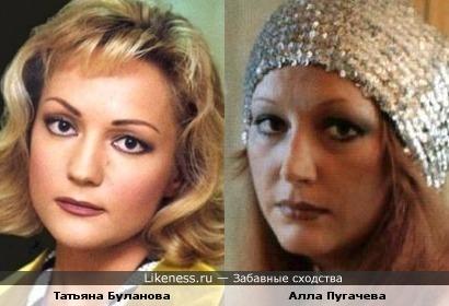 Певицы Алла Пугачева и Татьяна Буланова