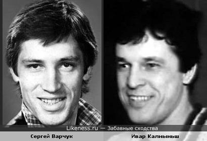 Актеры Сергей Варчук и Ивар Калныньш
