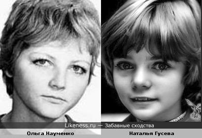 Актрисы Ольга Науменко и Наталья Гусева