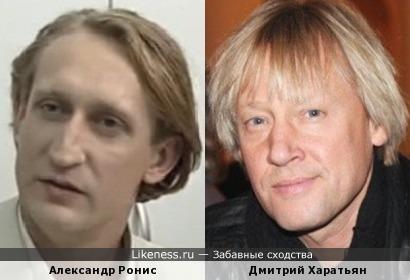 Актеры Александр Ронис и Дмитрий Харатьян