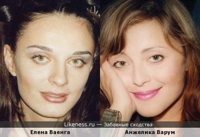 Певицы Елена Ваенга и Анжелика Варум