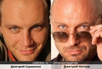 Дмитрий Суржиков и Дмитрий Нагиев