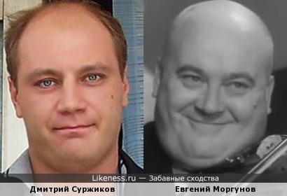 Актеры Дмитрий Суржиков и Евгений Моргунов