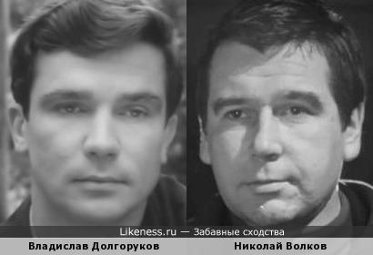 Актеры Владислав Долгоруков и Николай Волков