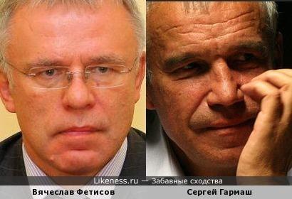 Вячеслав Фетисов и Сергей Гармаш