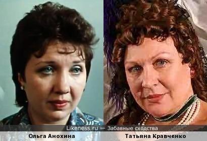 Актрисы Ольга Анохина и Татьяна Кравченко