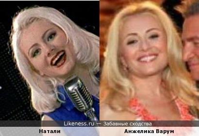 Певицы Натали и Анжелика Варум