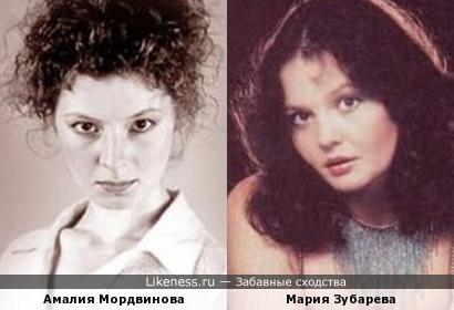 Актирсы Амалия Мордвинова и Мария Зубарева