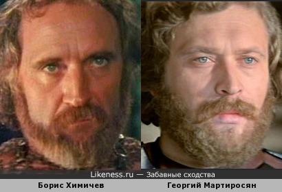 Актеры Борис Химичев и Георгий Мартиросян