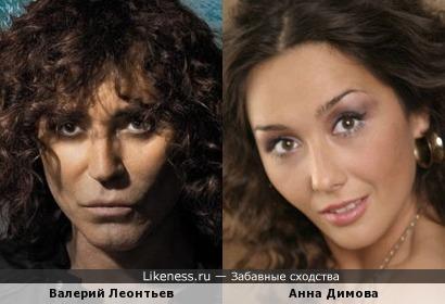 Валерий Леонтьев и Анна Димова