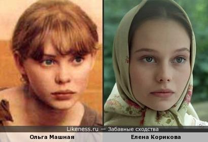 Актрисы Ольга Машная и Елена Корикова