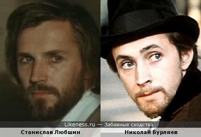 Актеры Станислав Любшин и Николай Бурляев
