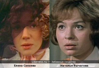 Актрисы Елена Санаева и Наталья Рычагова