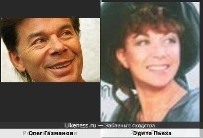 Певцы Олег Газманов и Эдита Пьеха