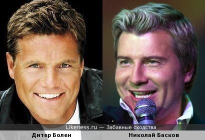 Дитер Болен и Николай Басков