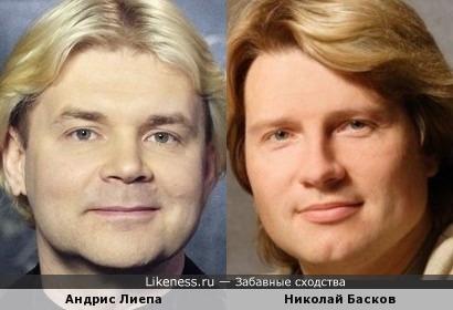 Андрис Лиепа и Николай Басков