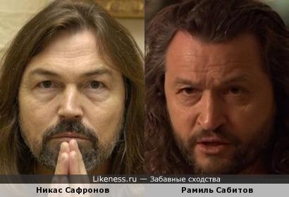 Никас Сафронов и Рамиль Сабитов