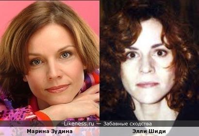 Актрисы Марина Зудина и Элли Шиди