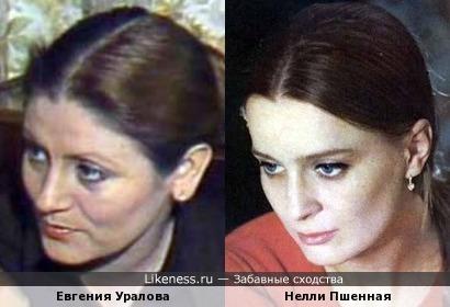 Актрисы Евгения Уралова и Нелли Пшенная