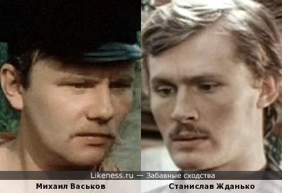 Актеры Михаил Васьков и Станислав Жданько
