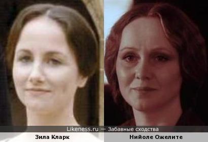 Актрисы Зила Кларк и Нийоле Ожелите