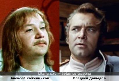 Актеры Алексей Кожевников и Владлен Давыдов