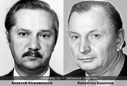 Актеры Алексей Кожевников и Валентин Брылеев