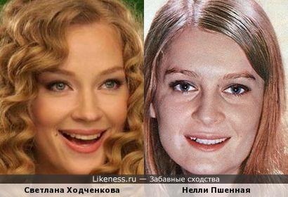 Актрисы Светлана Ходченкова и Нелли Пшенная