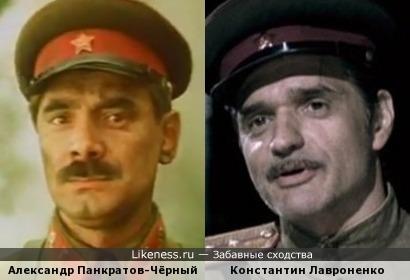Актеры Александр Панкратов-Чёрный и Константин Лавроненко