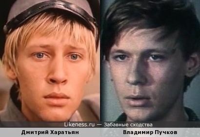 Актеры Дмитрий Харатьян и Владимир Пучков