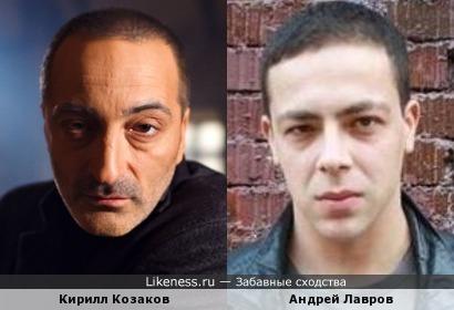 Актеры Кирилл Козаков и Андрей Лавров