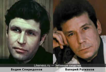Актеры Вадим Спиридонов и Валерий Рыжаков