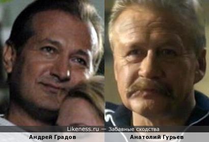 Актеры Андрей Градов и Анатолий Гурьев