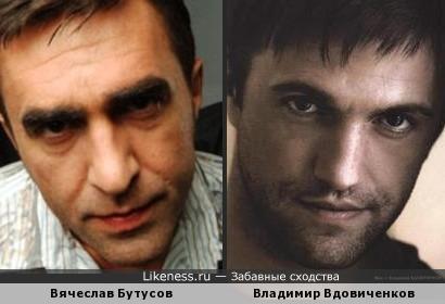 Вячеслав Бутусов и Владимир Вдовиченков