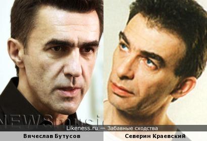 Певцы Вячеслав Бутусов и Северин Краевский
