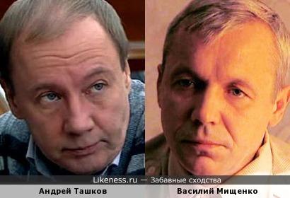 Актеры Андрей Ташков и Василий Мищенко