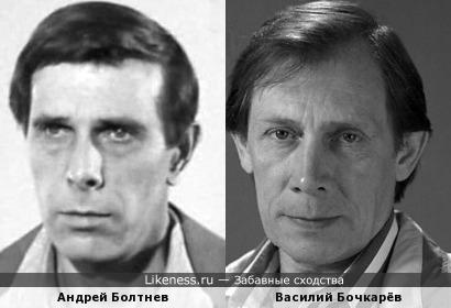 Актеры Андрей Болтнев и Василий Бочкарёв