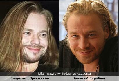 Владимир Пресняков и Алексей Барабаш