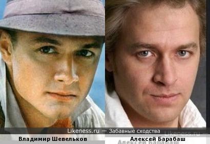 Актеры Владимир Шевельков и Алексей Барабаш