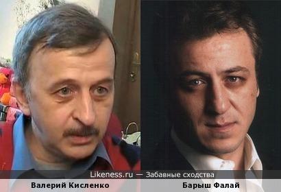 Актеры Валерий Кисленко и Барыш Фалай