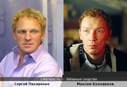 Сергей Писаренко и Максим Коновалов