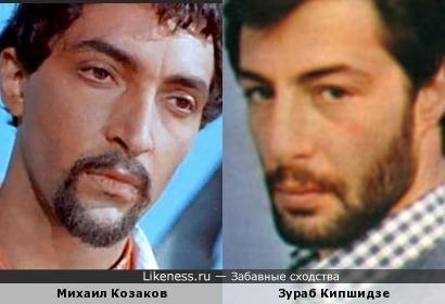 Актеры Михаил Козаков и Зураб Кипшидзе