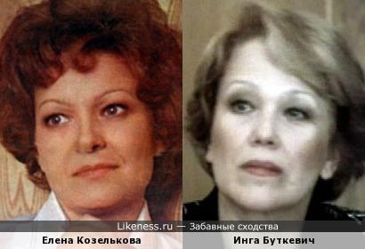 Актрисы Елена Козелькова и Инга Буткевич