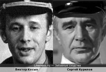 Актеры Виктор Косых и Сергей Курилов