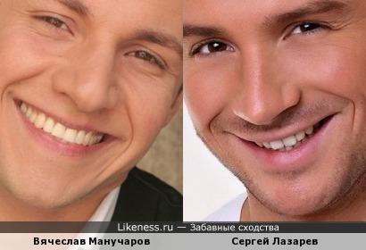 Вячеслав Манучаров и Сергей Лазарев