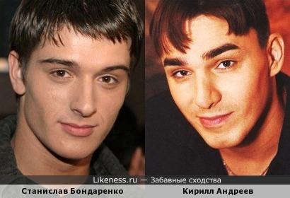 Станислав Бондаренко и Кирилл Андреев