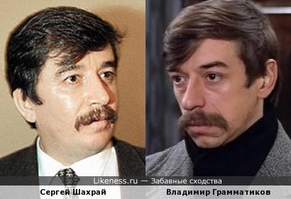 Сергей Шахрай и Владимир Грамматиков