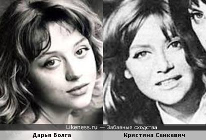 Актрисы Дарья Волга и Кристина Сенкевич